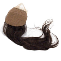 Andrea Deluxe Virgin Remy Silk Closure by Marquesa, Body Wave, 3.5x4, #4, 12""