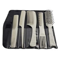 Styling Comb and Brush - 5Pc. Set