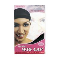 Stocking Wig Cap 2 Ct - Black