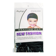 New Fashion Weaving Wig Cap - Black