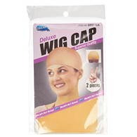 Deluxe Wig Cap 2 Ct - Blonde