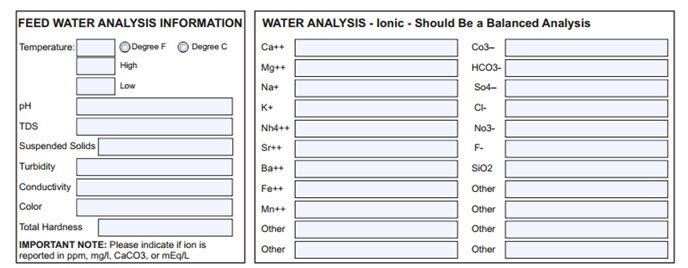 what is reverse osmosis? and is it necessary to get a water analysis?