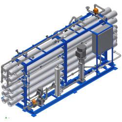 طريقة عمل أنظمة التناضح العكسي للمياه المالحة