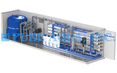 محطة التناضح العكسي الصناعية المعبأة في حاوية لتصنيع الأسمنت 380،000 - العراق