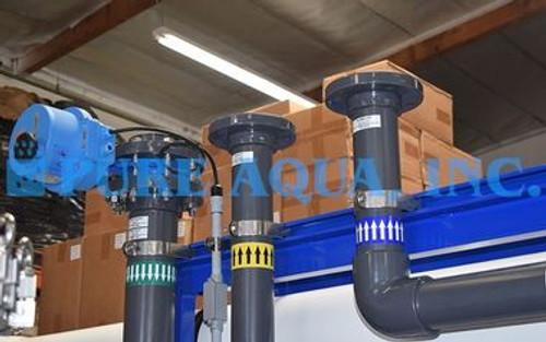 نظام RO المياه المالحة الصناعية لتجهيز الأغذية 144000 GPD - بيرو
