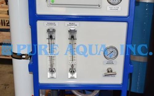 وحدات التناضح العكسي التجارية للحد من الكلوريد - 2 × 7500 GPD - الولايات المتحدة الأمريكية