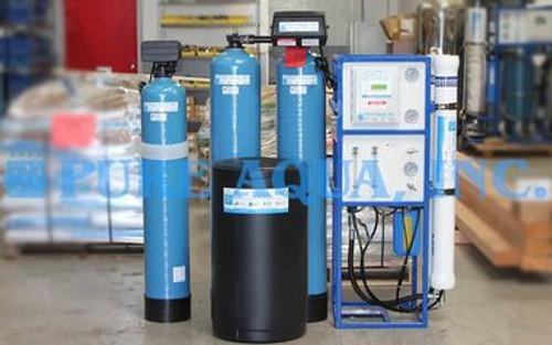 نظام RO التجاري لغسيل السيارات (تخفيض الكالسيوم) - 3000 GPD - الولايات المتحدة الأمريكية