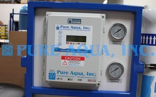 آلة التناضح العكسي التجارية لغسيل السيارات (الحد من الكالسيوم / المغنيسيوم) - 3000 GPD - الولايات المتحدة الأمريكية