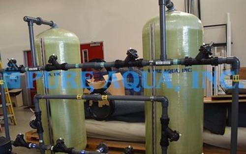 أنظمة معالجة المياه بالتناضح العكسي للمستشفى (الحد من التوصيلية) - 2 × 12000 GPD - الأردن