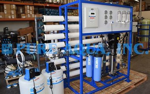 نظام التناضح العكسي للمياه الصنبور التجاري 24000 غالون فى اليوم - الولايات المتحدة الأمريكية