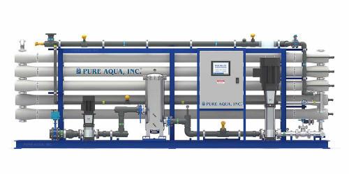 أنظمة التناضح العكسي الصناعية للمياه المالحة RO-500 Series