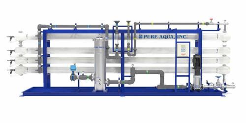 أنظمة التناضح العكسي الصناعية للمياه المالحة