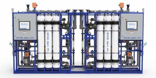 أنظمة ترشيح المياه الفائق الصناعية