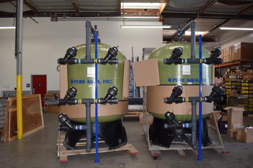 نظام فلتر فحم فعال   2X216 غالون بالدقيقة  نيوزيلندا