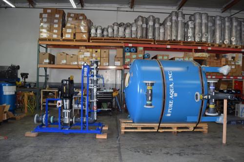 نظام فلترة لمعالجة المياه السطحية 250 غالون بالدقيقة   فلوريدا