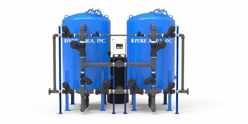 أجهزة إزالة عسر المياه الصناعية