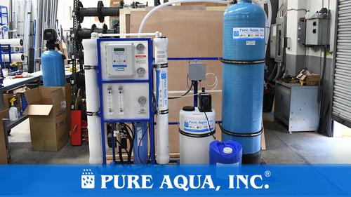 نظام التناضح العكسي لمياه البلدية 9000 جالون في اليوم| نيويورك