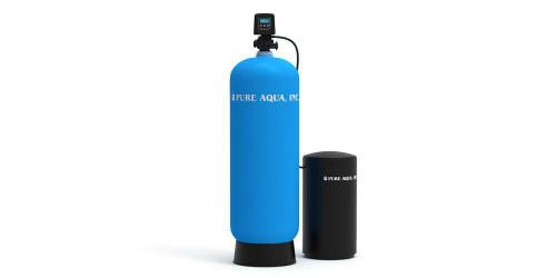 أجهزة إزالة عسر المياه المنزلية مع صمام فليك
