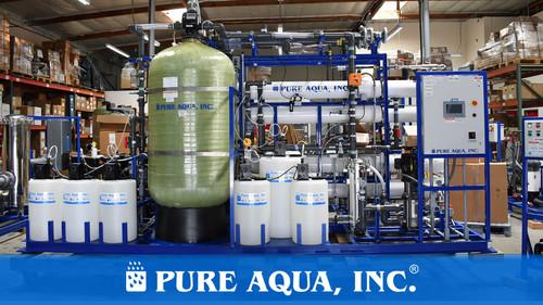محطة تناضح عكسي لمياه الشرب 2 × 43,000 جالون في اليوم