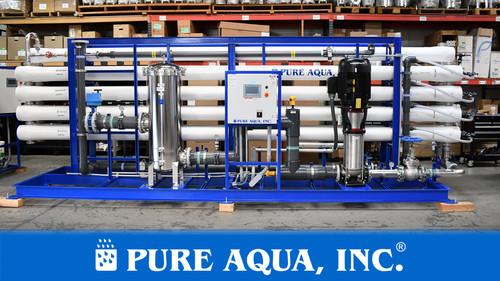 نظام التناضح العكسي الصناعي للمياه الجوفية 380,000 جالون في اليوم