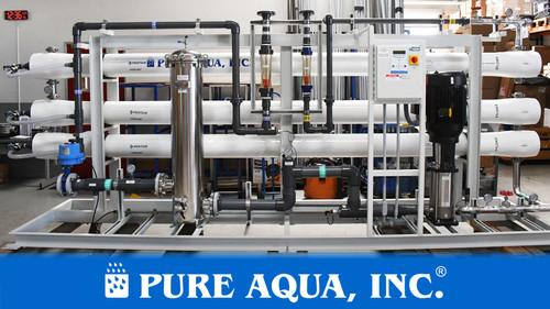 نظام التناضح العكسي للمياه المالحة 87000 GPD - فلوريدا