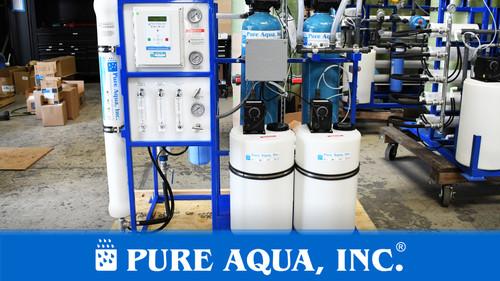 نظام التناضح العكسي لمياه الشرب 1,500 جالون في اليوم