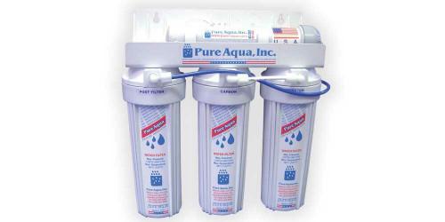 أجهزة تعقيم المياه بالأشعة فوق البنفسجية للإستخدام  المنزلى