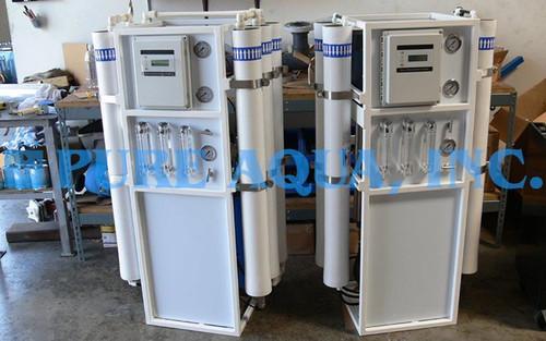 جهاز التناضح العكسي للمياه المالحة 2X7,500GPD - بولندا