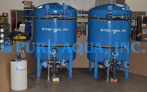 محطة معالجة مياه لإزالة الحديد من المياه 120 جالون/الدقيقة - البيرو