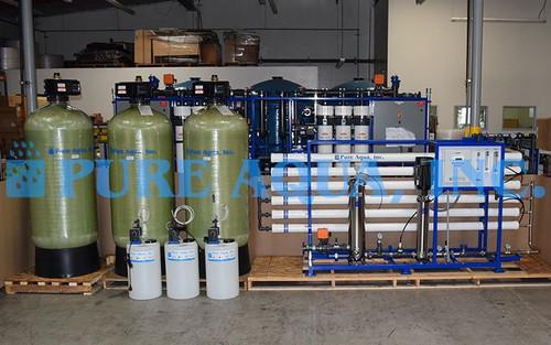 نظام تناضح عكسي لمعالجة مياه الآبار27000 جالون في اليوم - الجزائر