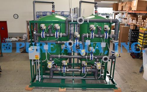 نظام فلترة المياه بالوسائط المتعددة مثبت على حوامل 400 جالون بالدقيقة - الولايات المتحدة