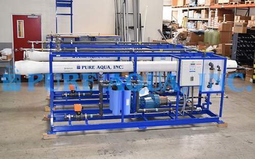 نظام تناضح عكسي لإزالة ملوحة المياه للأغراض التجارية عدد 2 / 16,000 جالون في اليوم - المالديف