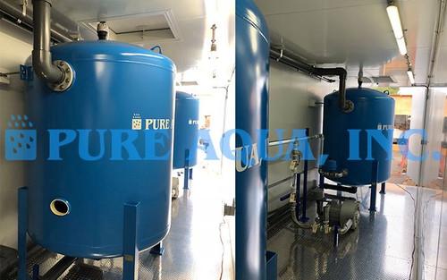 محطة فلترة مياه البحيرات الصناعية 240 جالون في الدقيقة - الولايات المتحدة
