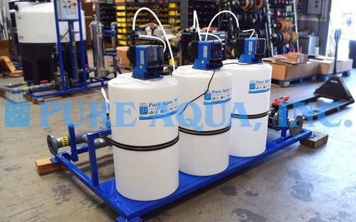 نظام ترشيح فائق لمحطة تعبئة زجاجات المياه 150 جالون بالدقيقة - غانا
