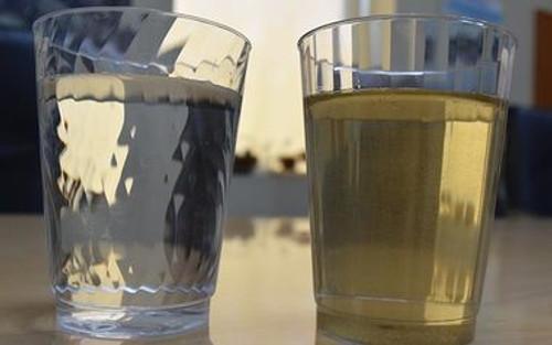 إزالة العكارة من المياه