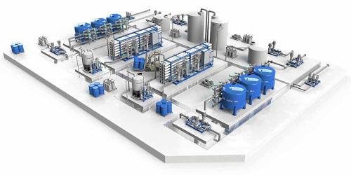 محطة لمعالجة المياه