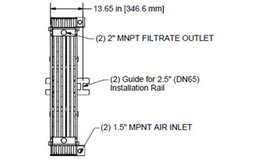 HYDRAsub HSM125-ES Membrane