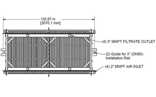 HYDRAsub HSM1500-ES Membrane