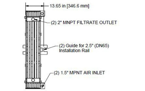 HYDRAsub MAX HSMM200-ES Membrane