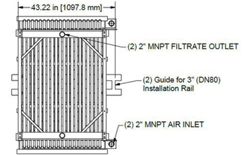 HYDRAsub MAX HSMM800-ES Membrane