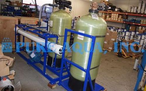 معدات RO التجارية لمياه البحر 12000 GPD - سنغافورة