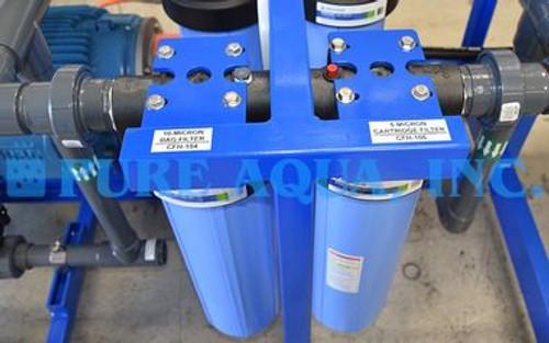 مياه البحر RO نظام الإرشاد 16،000 GPD - USA