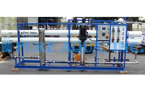 آلة التناضح العكسي الصناعية لتعبئة المياه 87000 GPD - الجزائر