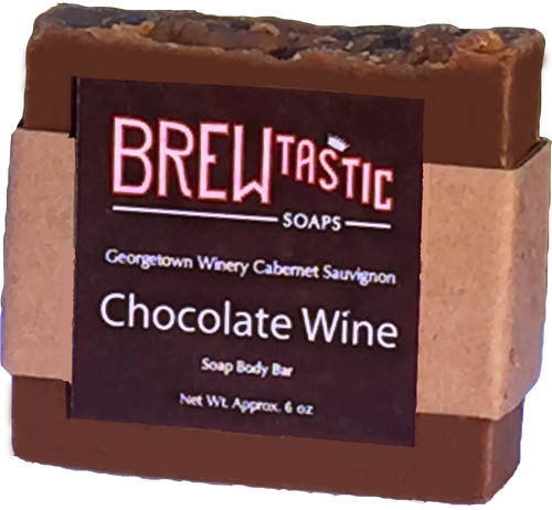If you love wine and chocolate, then this bar is for you. Naturally colored with REAL Hershey's Cocoa and scented like a tootsie roll, you'll need to keep this bar in the shower so no one mistakes it for candy.