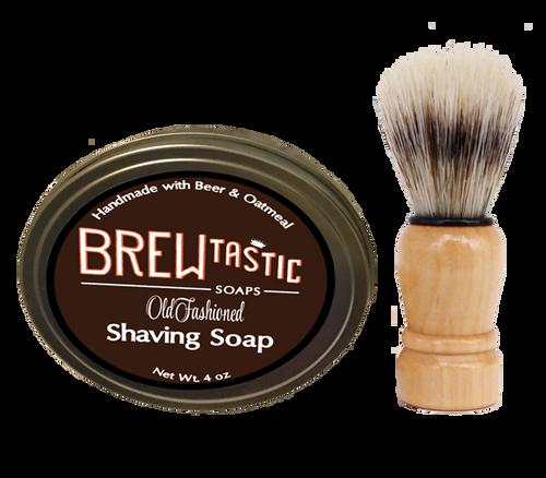Beer & Oatmeal Shaving Soap Kit