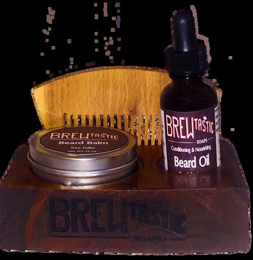 Beard Care Kit & Mount