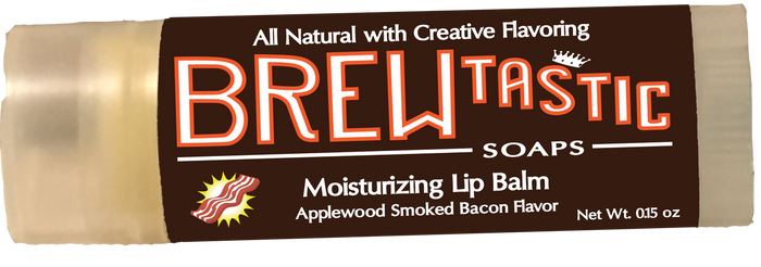 Compare to Burt's Bees! Made from local beeswax from Rogers, TX, your lips will love you for using these. A lot of commercial lip balms make your lips feel more dried out than they were before using them, forcing you to re-apply endlessly. Brewtastic Soaps Lip Balms are made from all natural oils that are balanced especially for returning moisture to lips. Enjoy the creative flavors, and the Original Peppermint provides that addictive tingly sensation that we all love.
