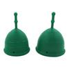 MermaidCup™ Guppy Menstrual Cup Jade Green