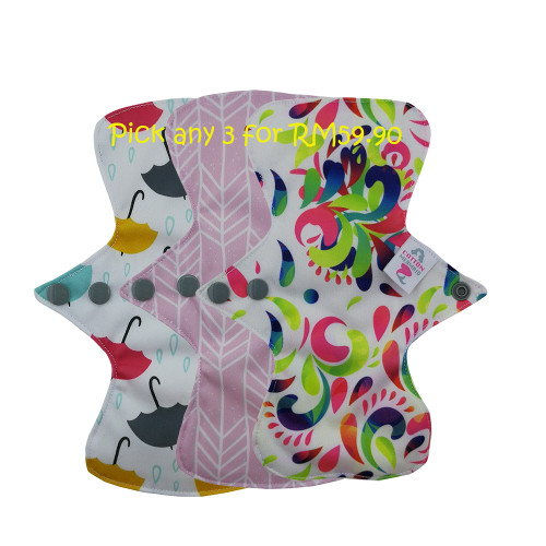 Pixie's Daily Liners Set of 3