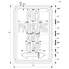 NO PARKING ANYTIME SKU# X-SIGN-R7 DIMENSIONS DOUBLE ARROW
